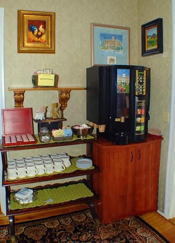 Tea & Coffee Area