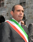 Il sindaco, Carlo  Gelpi (foto Cusa)