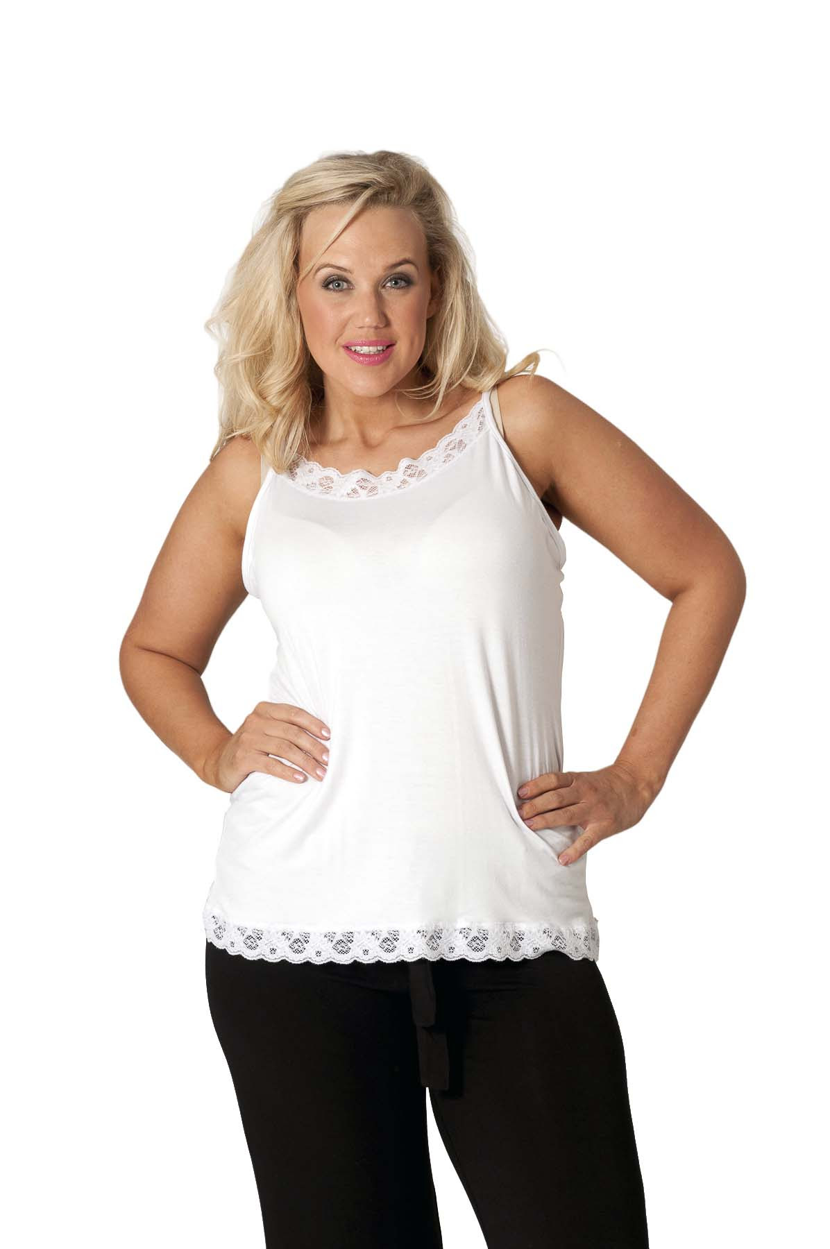 Plus for size camisole lace women women tops for wholesalers