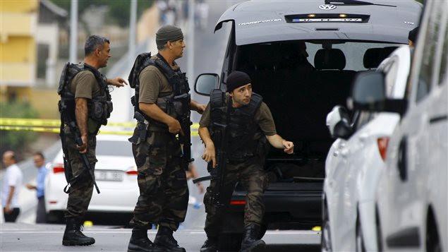 Attaque contre un poste de police en Turquie