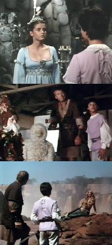 Escenas de 'Wizards of the Lost Kingdom' (click para agrandar)