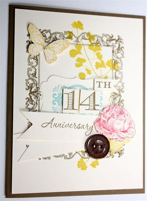 Papaya Collage Anniversary Card : Kimberly's Blog