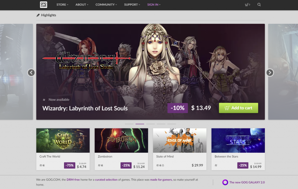 gog game tempat download game