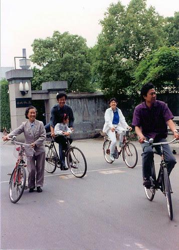 Biking in Suzhou, China
