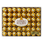 Ferrero Rocher Fine Hazelnut Chocolates, 21.2 oz