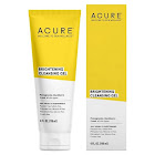 Acure Brilliantly Brightening Facial Gel Cleanser - 4 oz tube