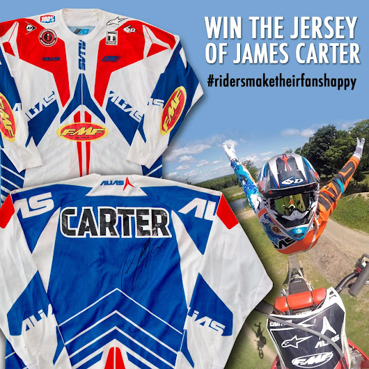 FORTY8 Freestyle MX Online Magazine | WIN a signed original Jersey of James Carter!