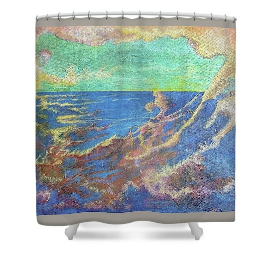 Cynthia Silverman sold a Shower Curtain on FineArtAmerica.com!