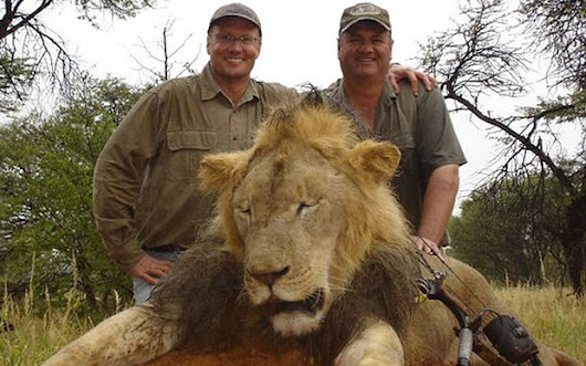 $100,000 Reward for the Arrest and Extradition of Walter Palmer