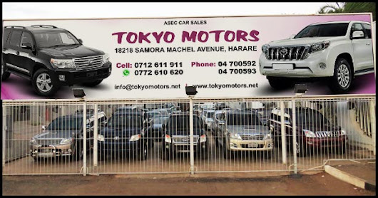 Japanese Used Cars and Spare Parts in Zimbabwe | Tokyo Motors