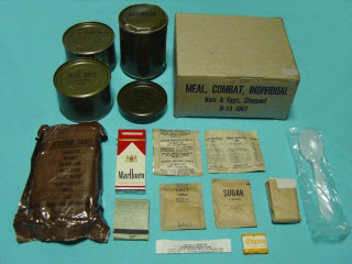 Image result for c rations with cigarettes
