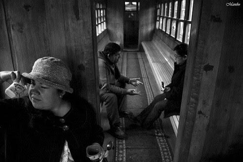Desde el tren by Alejandro Bonilla