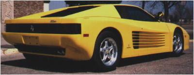 Cool Custom Cars Ferrari 512 Testarossa