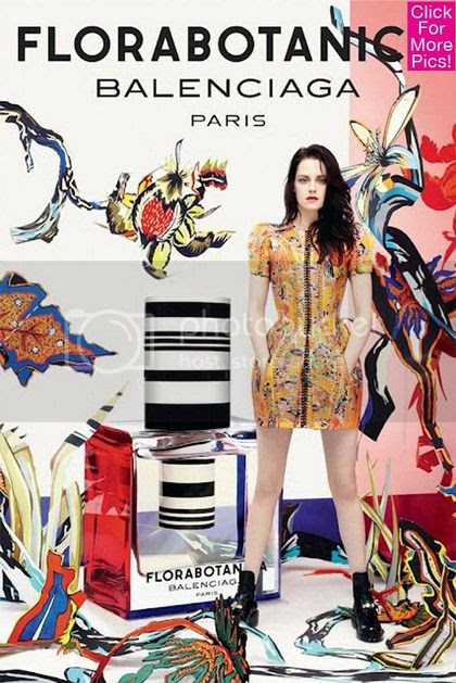 Kristen Stewart for Balenciaga Ad Campaign