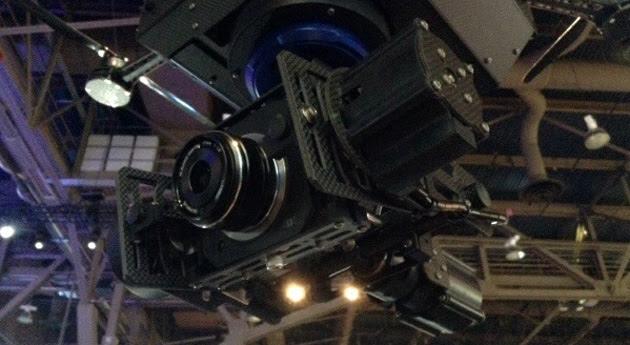 JVC's 4K aerial drone camera