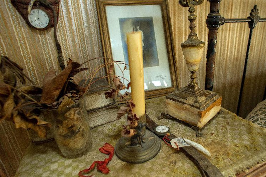 In France, a WWI soldier's bedroom frozen in time