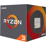 AMD Ryzen 3 1300X 3.5 GHz Quad-Core Processor - 2 MB - Socket AM4 - Retail