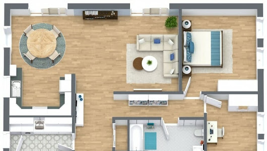 Roomsketcher google Online 3d floor plan creator