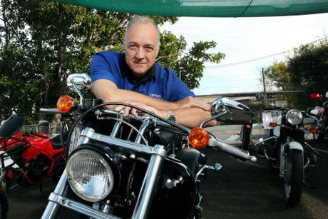 Grant MacPherson from Express Motorcycles believes the new anti-bikie laws are impacting on motorcycle businesses throughout Queensland.