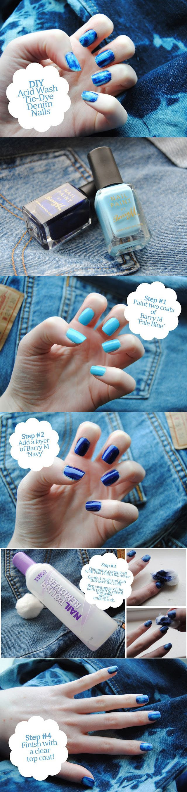 10 Amazing Nails Tutorials - Fashion Diva Design  | See more nail designs at http://www.nailsss.com/nail-styles-2014/2/