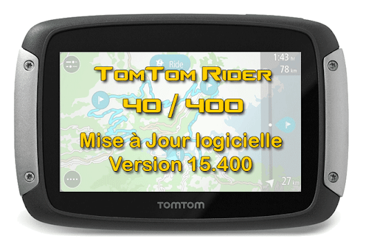 TomTom Rider 400 – Màj Version 15.400 - AS-GPS Services