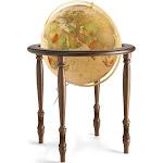 Valencia Globe 20-inch Diameter Illuminated Classic Antique Waypoint Geographic