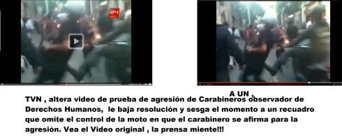 TVN ALTERA VIDEO DE PRUEBA...... EDITORIAL DE LA CENSURA !!!