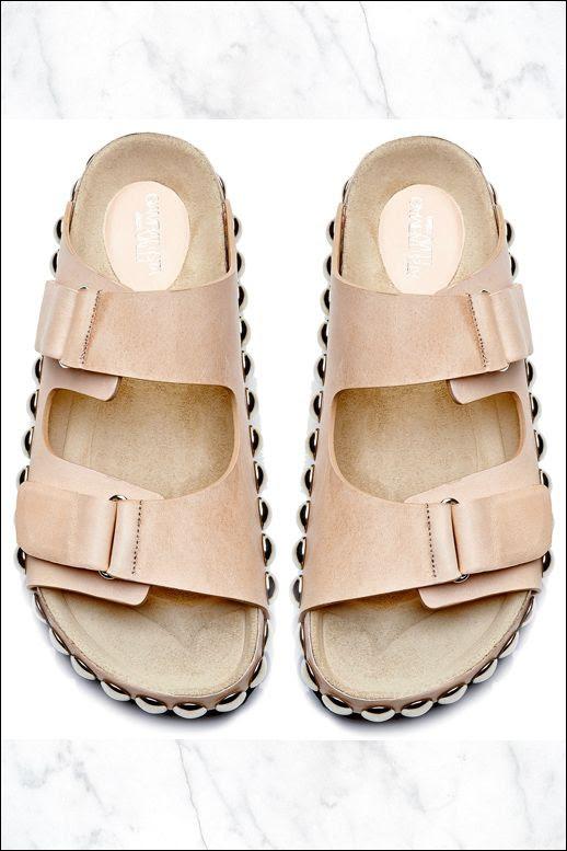 Le Fashion Blog Shoe Crush Giambattista Valli Studded Slide Sandals Birkenstock Style Tan Nude Beige Black Leopard Print Colors Top View 2014 2 photo Le-Fashion-Blog-Shoe-Crush-Giambattista-Valli-Studded-Slide-Sandals-Birkenstock-Style-Top-View-2.jpg