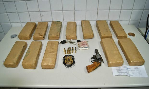 Material foi apreendido com os suspeitos no bairro Boa Vista II / Foto: Divulgação/Adielson Galvão.