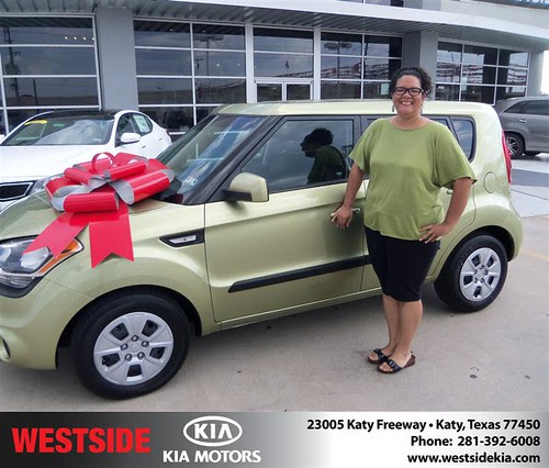 Thank you to Jennifer Mccullough on the 2013 Kia Soul from Fabian Murphyand everyone at Westside Kia!