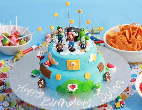 Mario Cake-8
