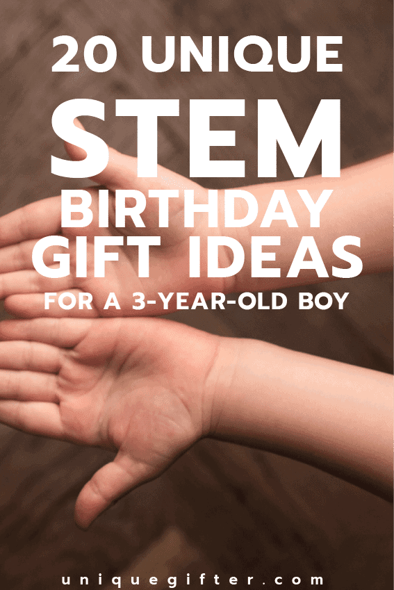 20 Stem Birthday Gift Ideas For A 3 Year Old Boy Unique Gifter