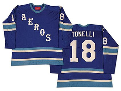 Houston Aeros 76-77 jersey, Houston Aeros 76-77 jersey