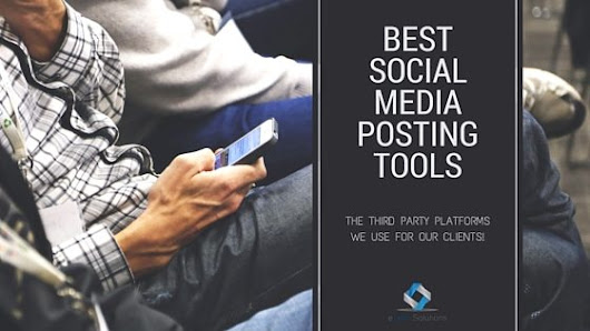 The Social Media Platforms We Love and Use!
