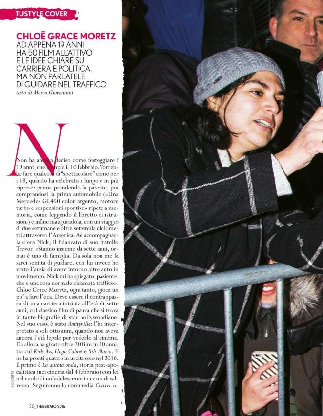 Chloe Moretz: TuStyle Magazine 2016 -03