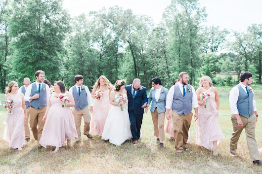 An Ethereal Woodland Arkansas Wedding | Ian + Courtney