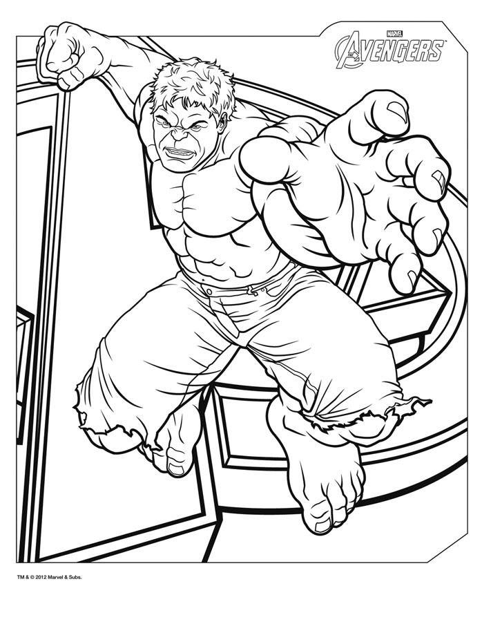 160 Dibujos De Los Vengadores Para Colorear Oh Kids Page 1