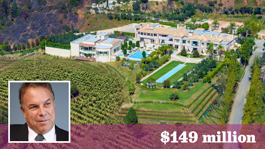 'Most expensive' mansion in U.S. just got cheaper: Palazzo di Amore cuts price by $46 million