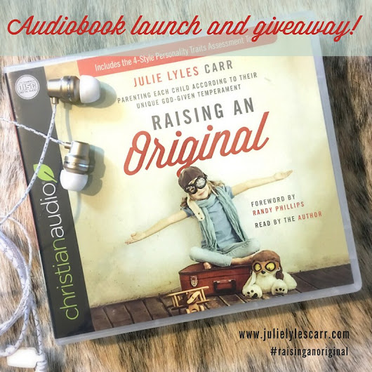 Raising an Original Audiobook Giveaway!