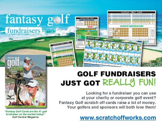 Fantasy Golf scratch off cards are #1 golf fundraiser on the marke...