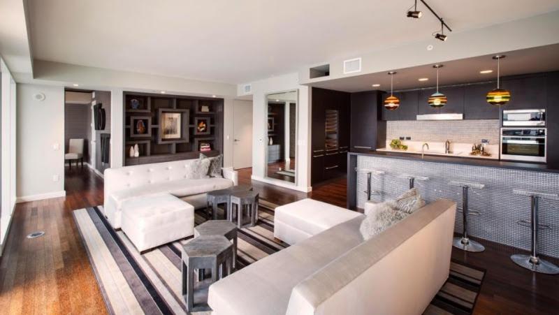 offene küche mit wohnzimmer  pro contra und 50 ideen
