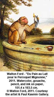 """Walton Ford - """"Du Pain au Lait pour le Perroquet Mignonne,"""" 2011 by artimageslibrary"""