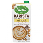 Pacific Foods Barista Series Almond - Unsweetened 32 Oz (Pack Of 12)