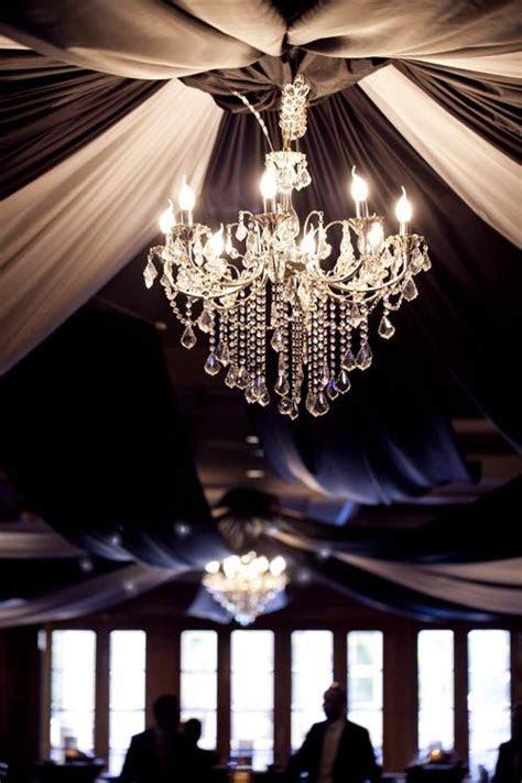 Wedding Reception Ideas amp; Table Settings   Draped