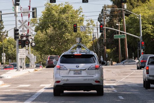 The View from the Front Seat of the Google Self-Driving Car