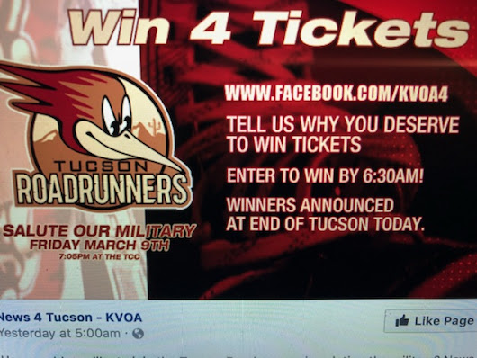 KVOA, Roadrunners, and Marines, oh my!