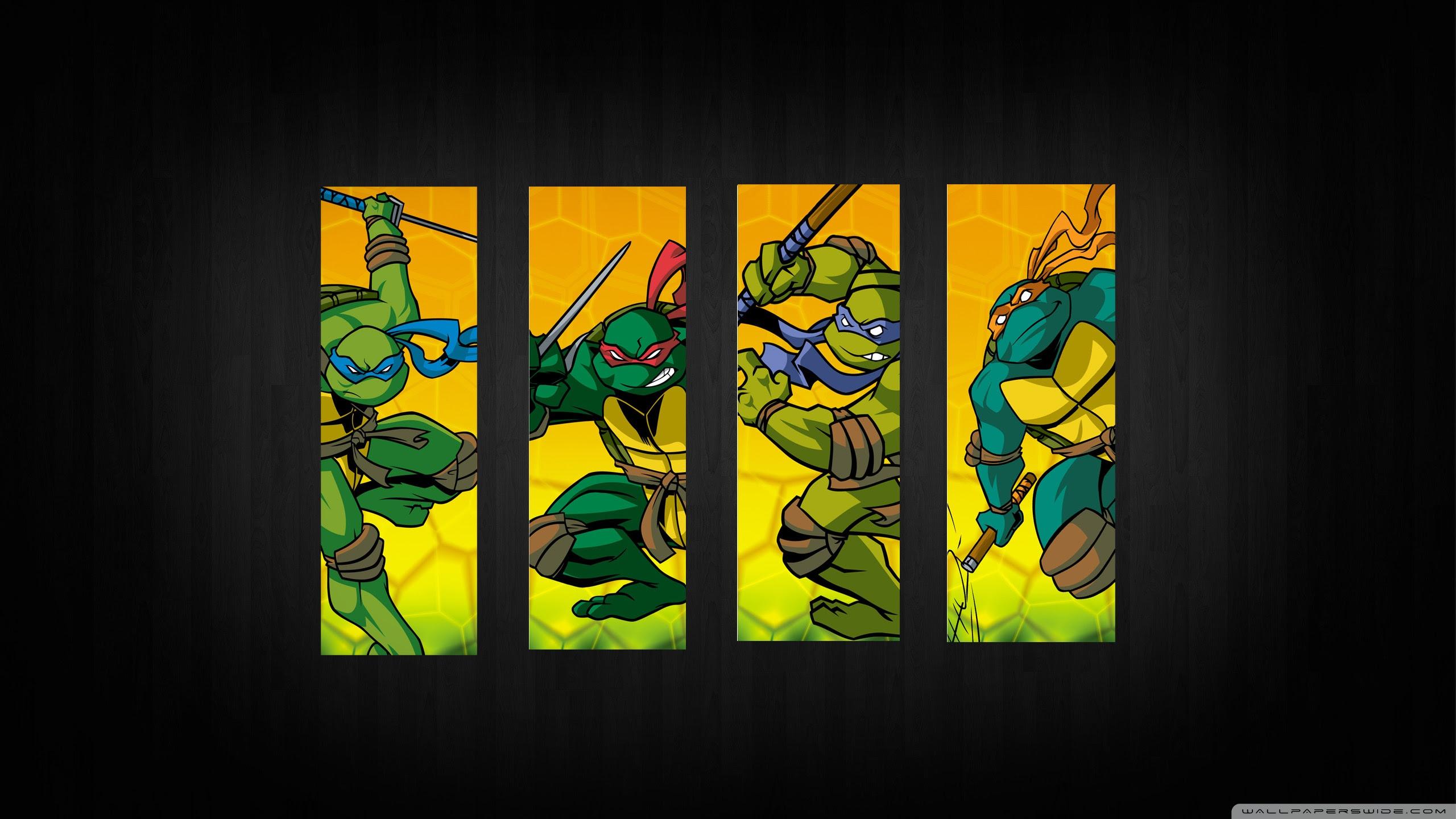 Teenage Mutant Ninja Turtles Ultra Hd Desktop Background Wallpaper