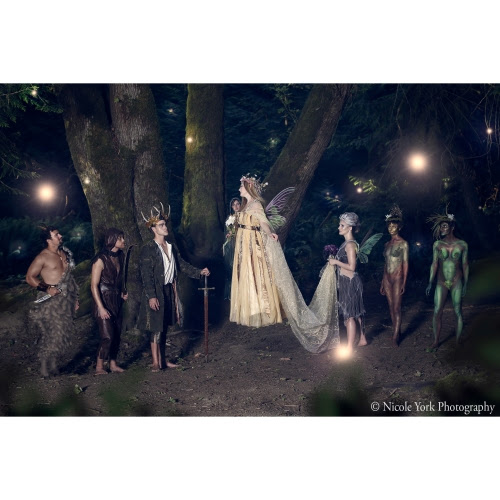 Fairy Wedding Photo Shoot by Nicole York in Kai'outi Magazine