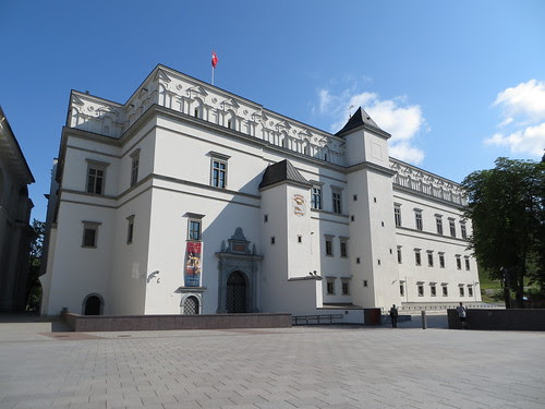 Palace of the Grand Dukes of Lithuania, Vilnius, Lithuania - SpottingHistory.com