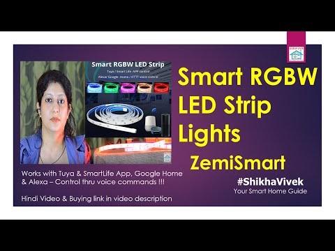 Smart RGBW WiFi LED Strips Lights   Zemismart
